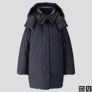 Women's U Padded Oversized Parka Jacket/Coats M